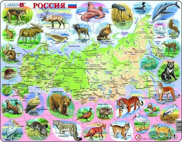 Политическая карта Сев.Америки